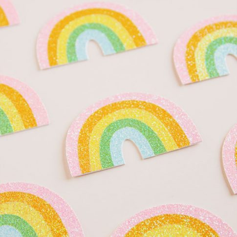 Rainbow SVG Cut Files from k.becca #cutfile #svgfile #cutfiles #svgfiles #silhouettecameo #cricut