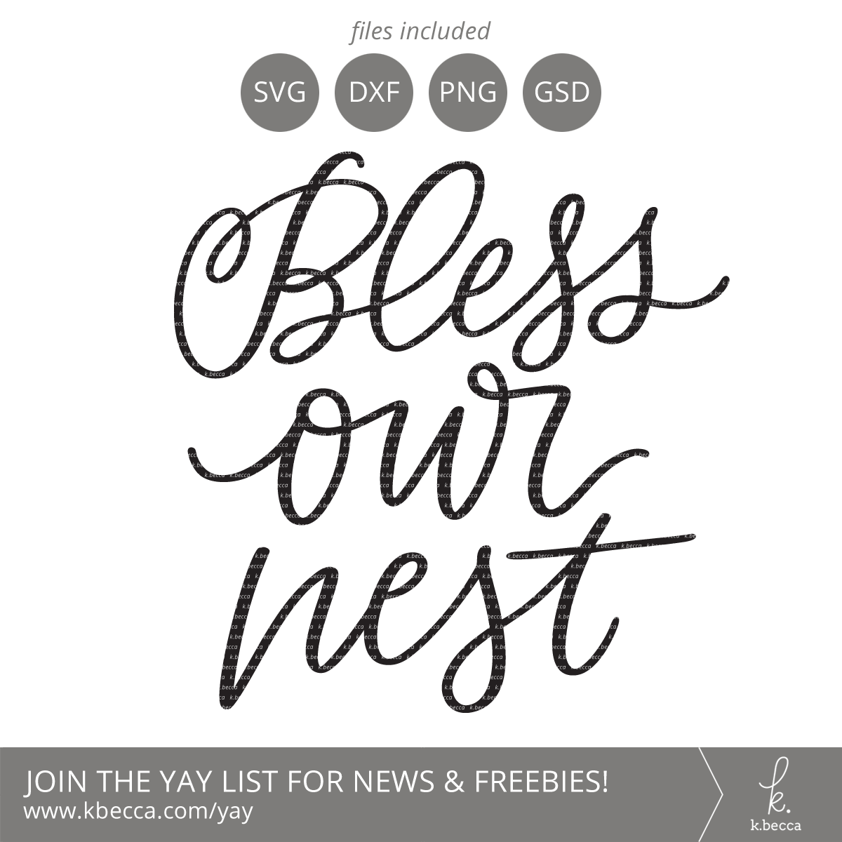 New in the Shop : Bless Our Nest + Farm Sweet Farm SVG Cut Files