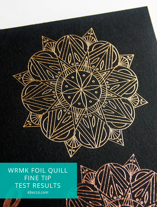 We R Memory Keepers Foil Quill Unboxing, Setup & Initial Testing