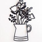Flower Pitcher SVG Cut Files #svgfile #svgfiles #cutfile #cutfiles #silhouettecameo #cricut