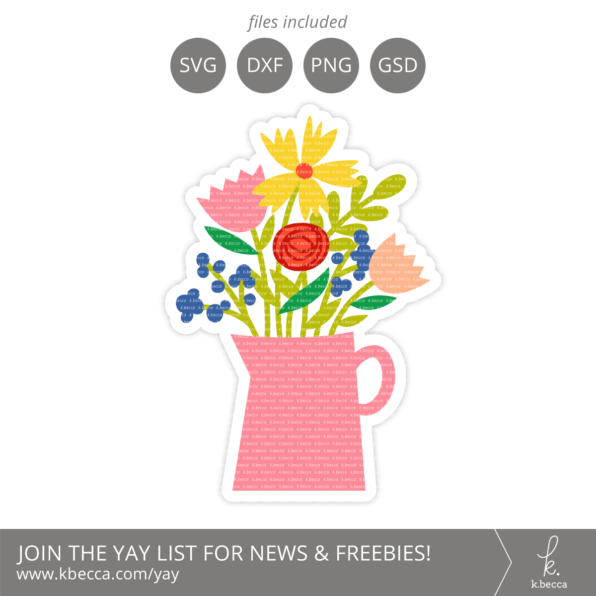 Flowers Vase Card SVG Cut Files #svgfile #svgfiles #cutfile #cutfiles #silhouettecameo #cricut