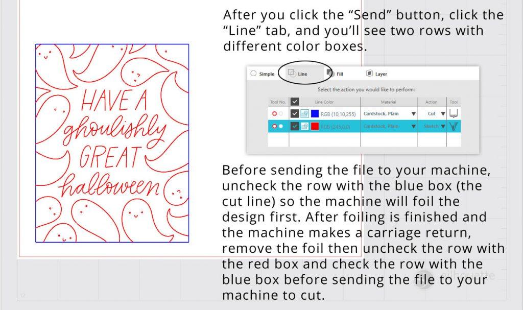 Silhouette Studio Cut by Line Color Screenshot 2