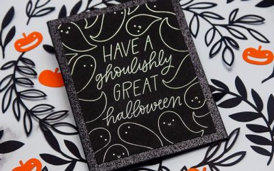 Foil Quill Halloween Card Making with the Silhouette Cameo