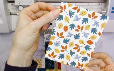 How to Use Pattern Fill Silhouette Studio for Print & Cut